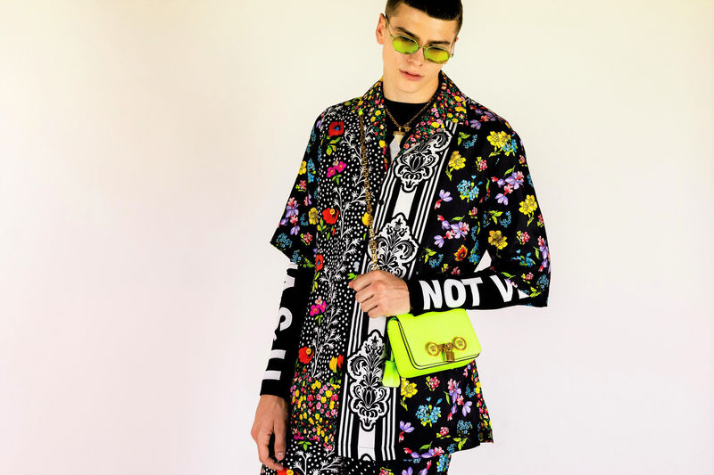 Rave-Inspired Luxe Menswear