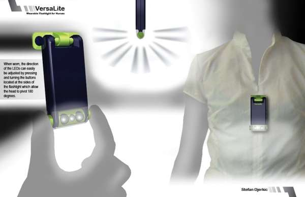 Versatile Wearable Flashlights