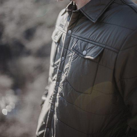 Wool-Stuffed Shirt Jackets