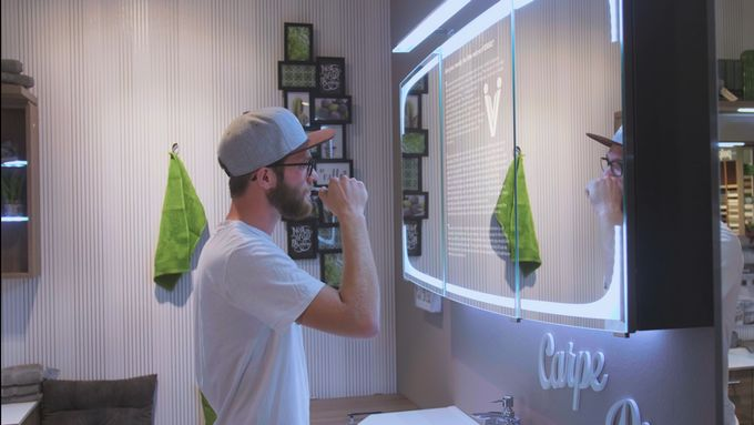 App-Enabled Smart Mirrors