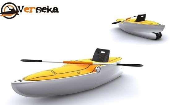 Fold-Up Boats