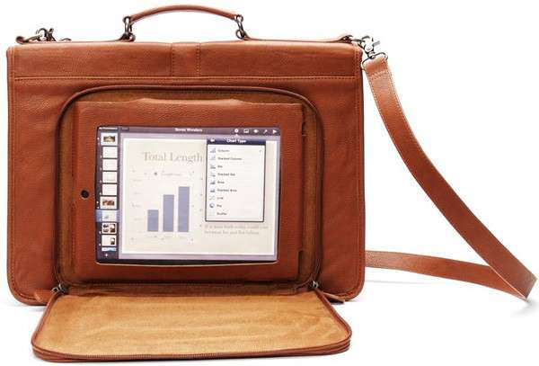 Leather Tablet Satchels