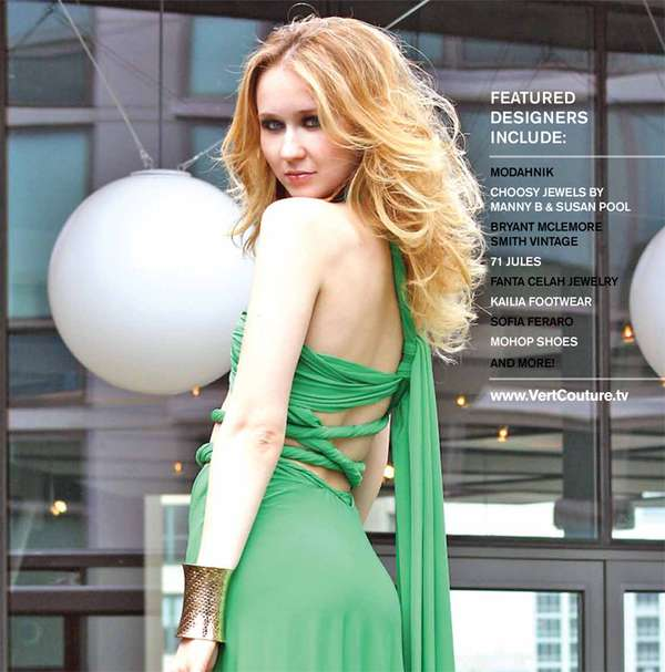 Flirty Green Fashion