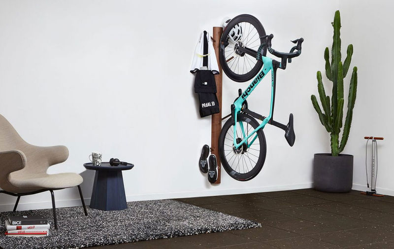 Wall-Mounted Indoor Cyclist Stations