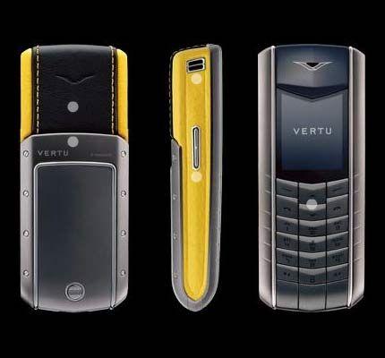 Vertu Accent $4000 Luxury Mobile Phone
