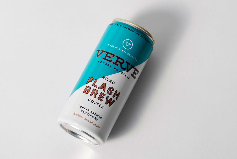 Flash-Brewed Canned Coffees