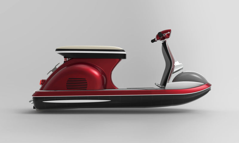 Italian Scooter Jet Skis