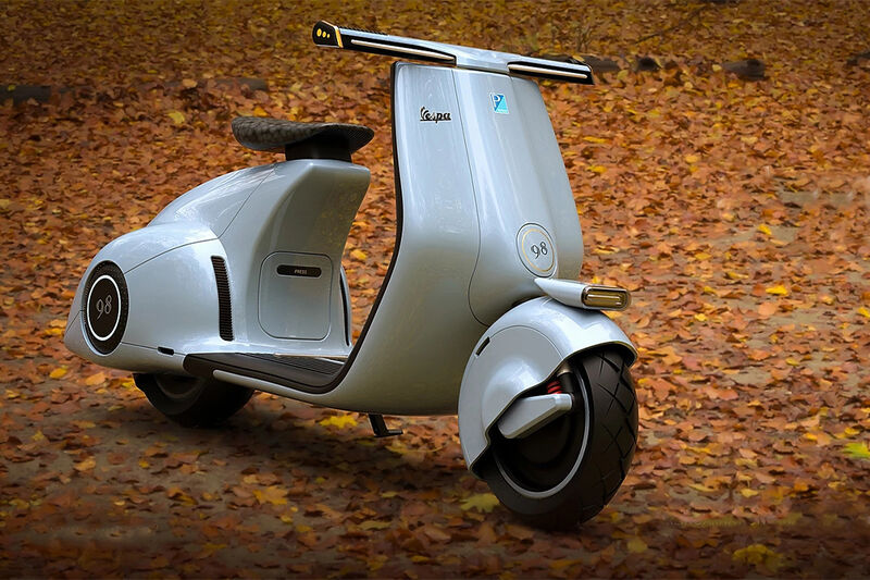 Conceptual Electric Scooter Designs