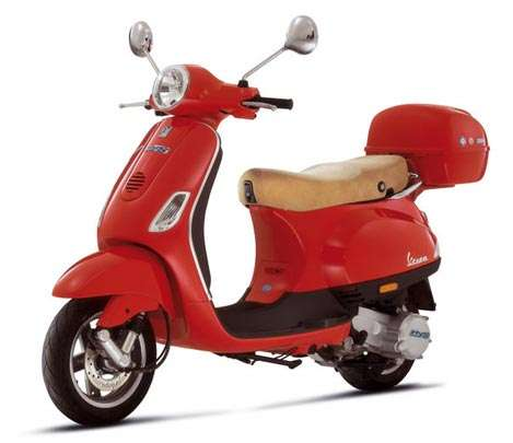 Vespa Unveils Two Hybrid Scooters