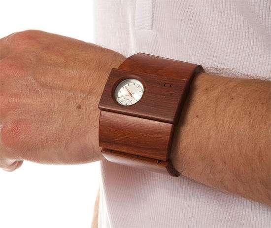 Wooden Watch Cuffs