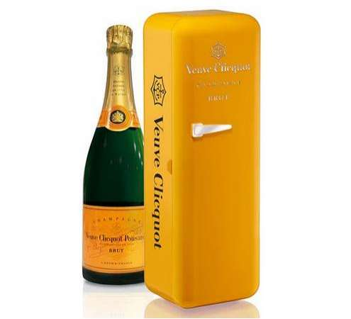 Individual Champagne Fridges Veuve Clicquot Mini Fridge
