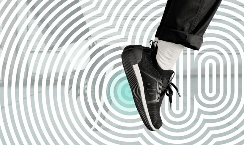 Multi-Sensory Vibrating Sneakers