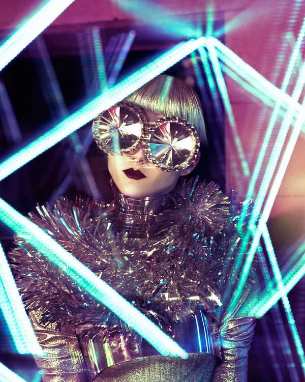 Bedazzling Futuristic Fashion