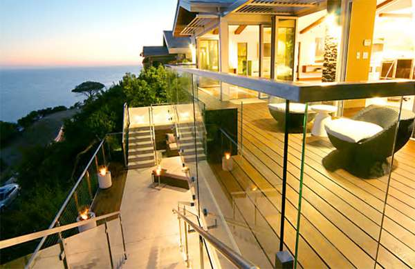 Cliff-Hanging Eco Houses