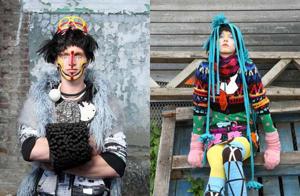 Hipster Tribal Editorials
