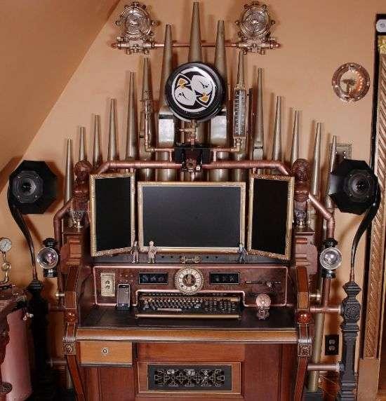 Steampunk Desktops