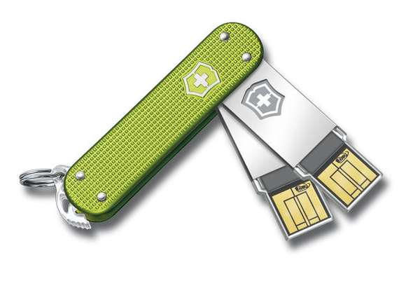 Slick Switchblade Thumbdrives