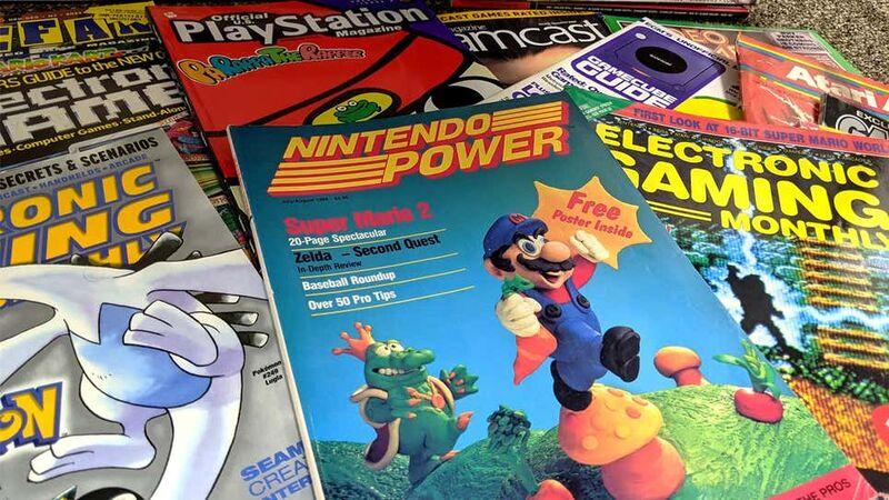 Vintage Video Game Magazines