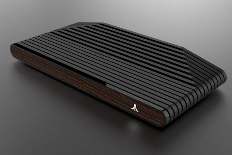 Stylish Timber Gaming Consoles