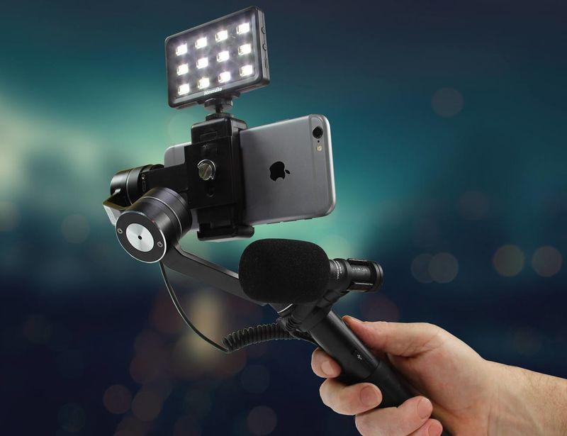 Videographer Smartphone Gimbals