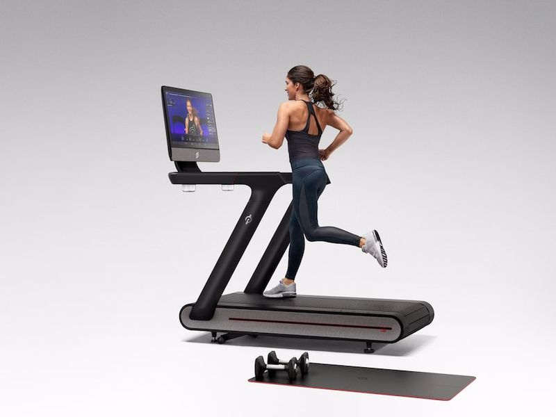 video integrated treadmills video training treadmill. Black Bedroom Furniture Sets. Home Design Ideas