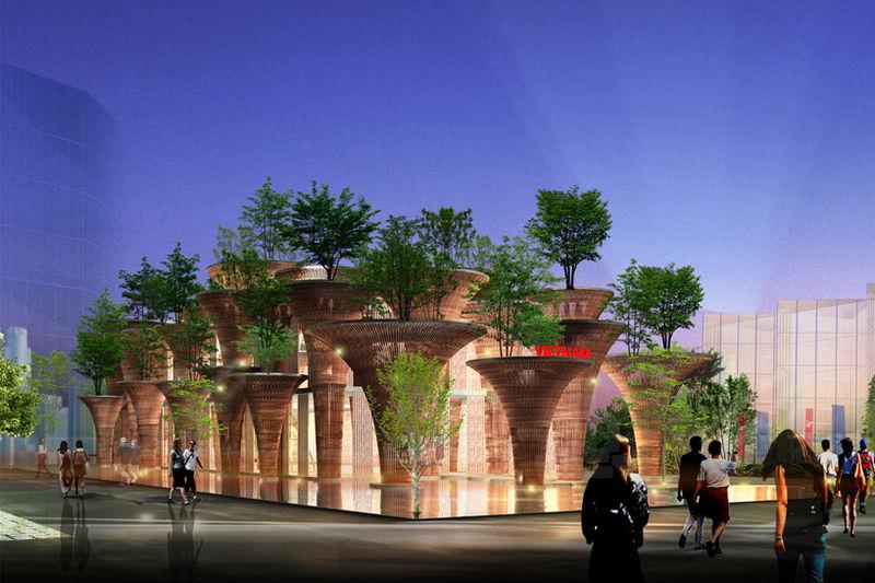Tree-Top Pavilions
