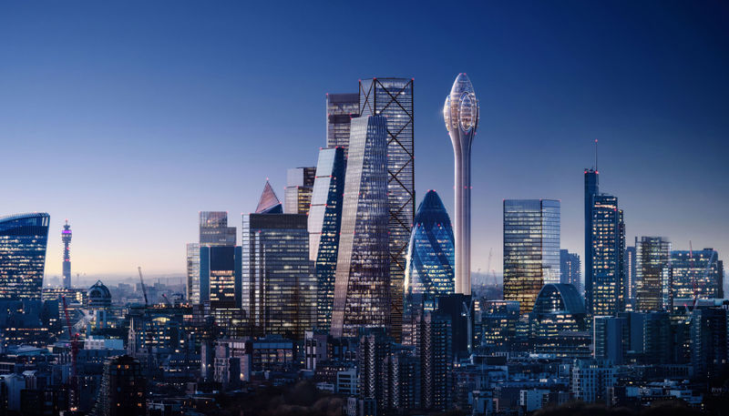 Supertall Tourist Viewing Towers