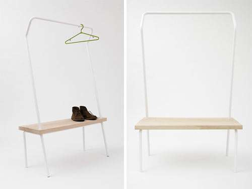 Clothing Rack Benches