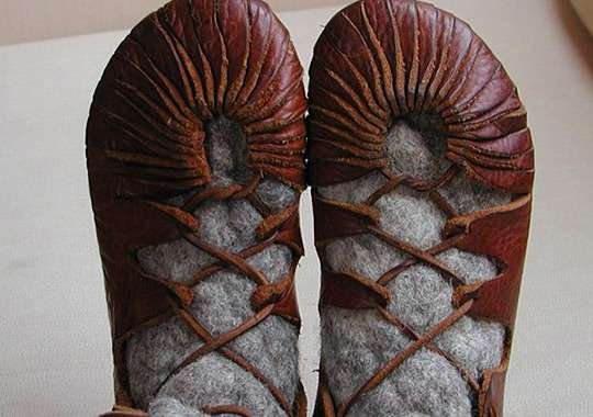 DIY Leather Footwear