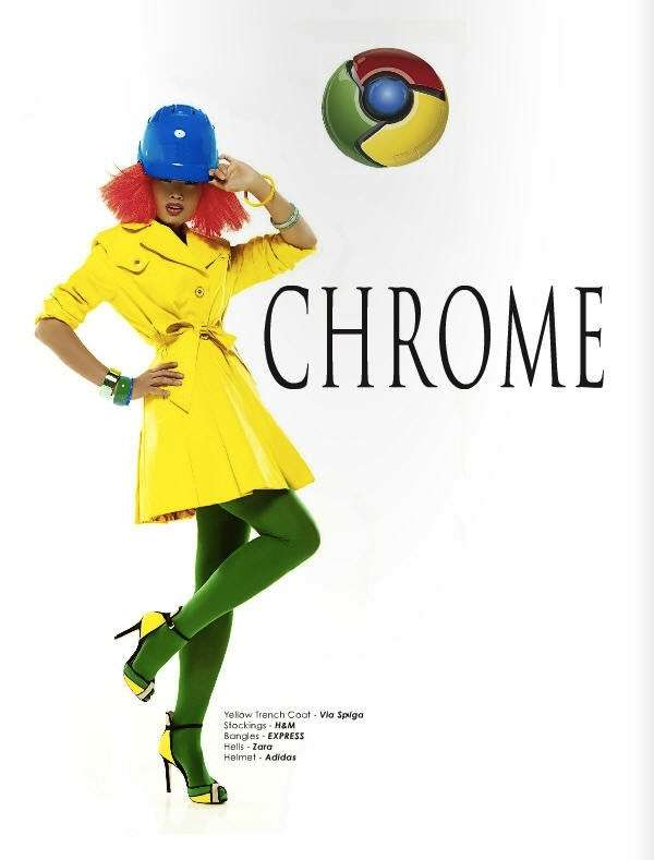 Browser-Inspired Editorials