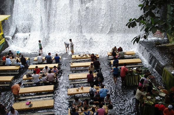 Scenic Waterfall Restaurants