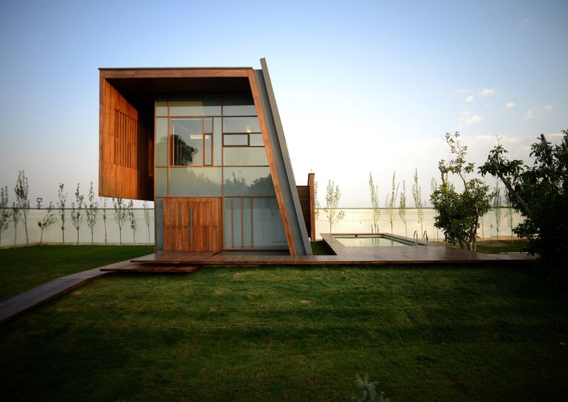 Contemporary Geometric Homes