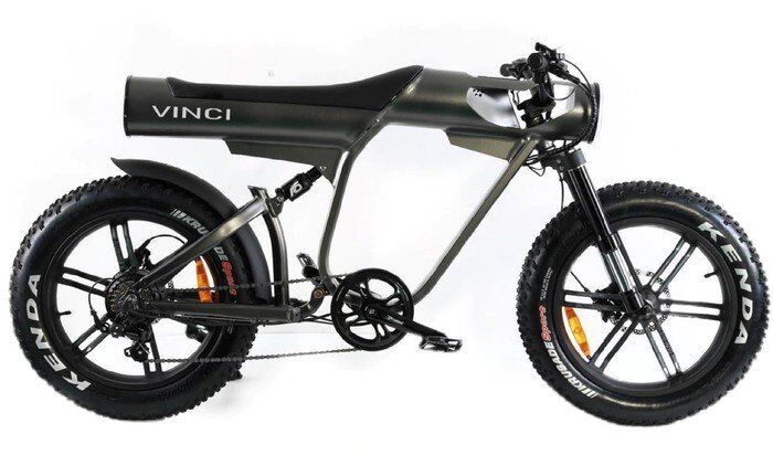 Sleek Motorcycle-Inspired Electric Bikes