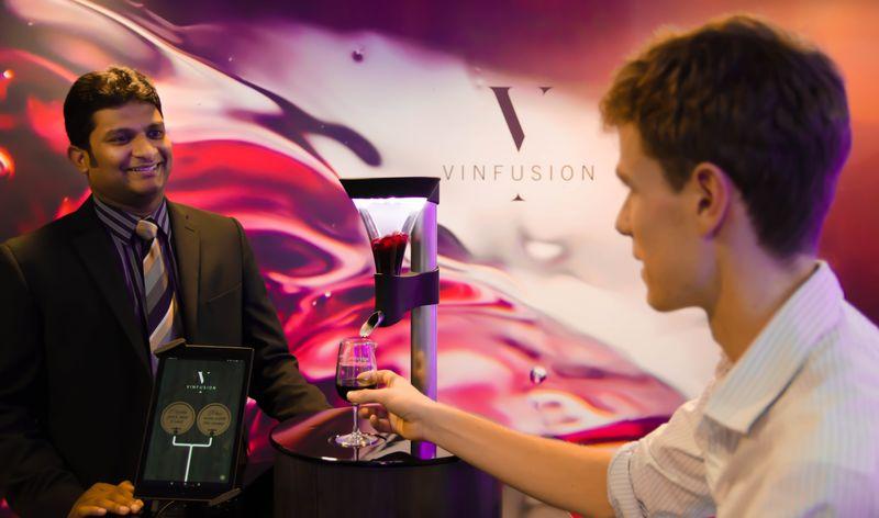 Custom Wine-Blending Robots