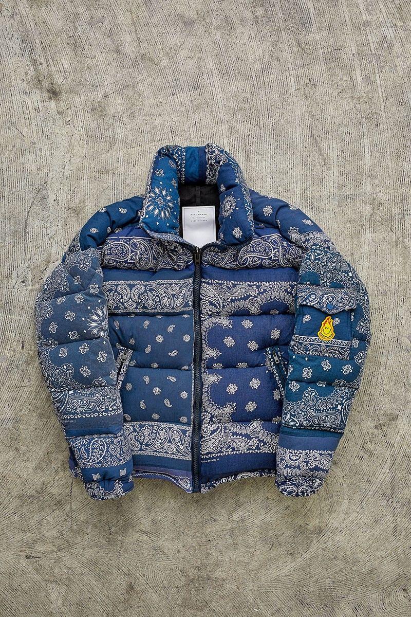 Vintage Bandana-Made Jackets