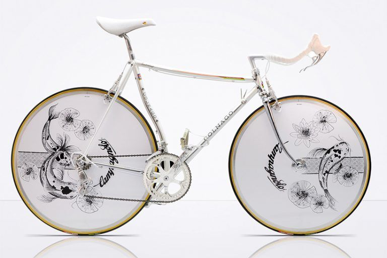 Elegant Chrome Bicycles