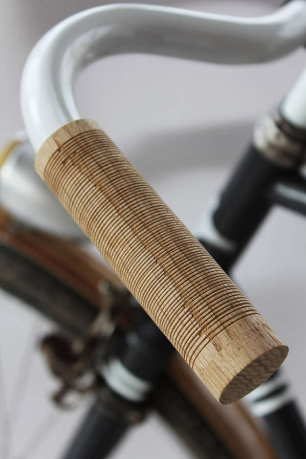 Spindle-Wood Bike Handlebars