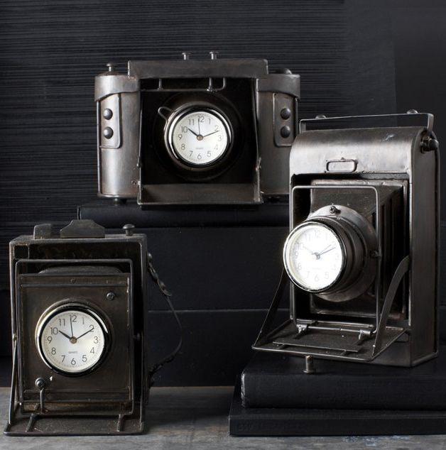 Vintage Camera Clocks