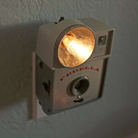 Retro Camera Room Lights