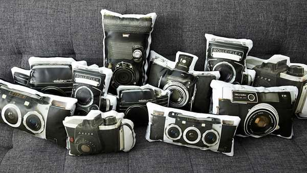 Retro Photographic Cushions