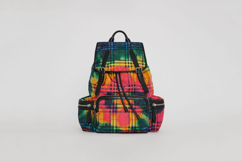Luxe Tie-Dye Backpacks