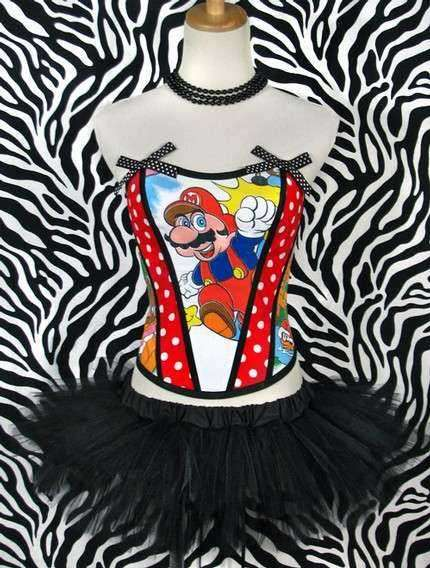 Cartoon Corsets