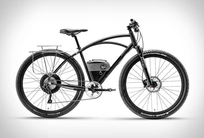 Retro-Inspired Electric Bikes