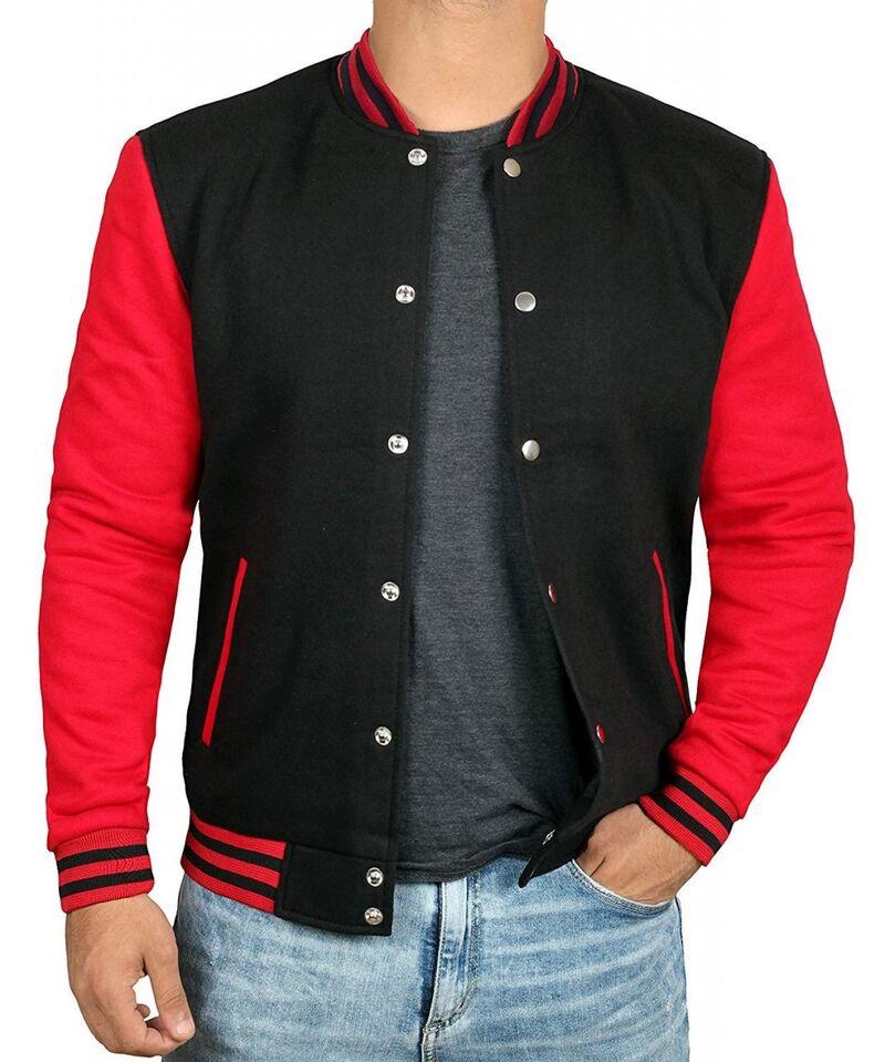 Vintage-Inspired Letterman Jackets
