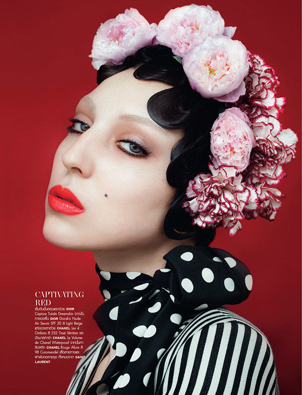 Eccentric Beauty Editorials
