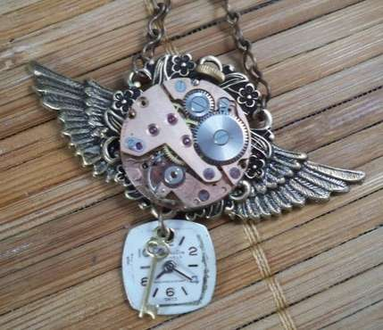 Steampunk Pendants