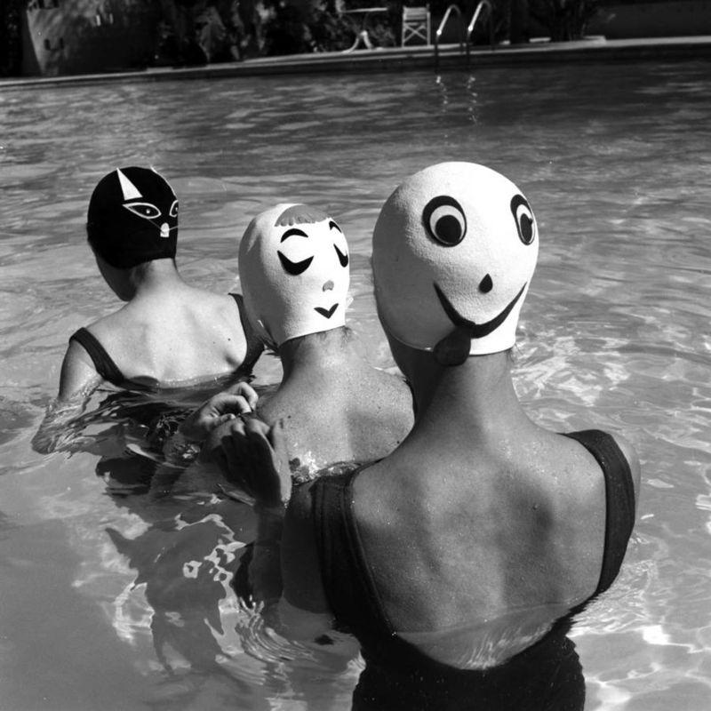 Vintage Swimming Cap Photography