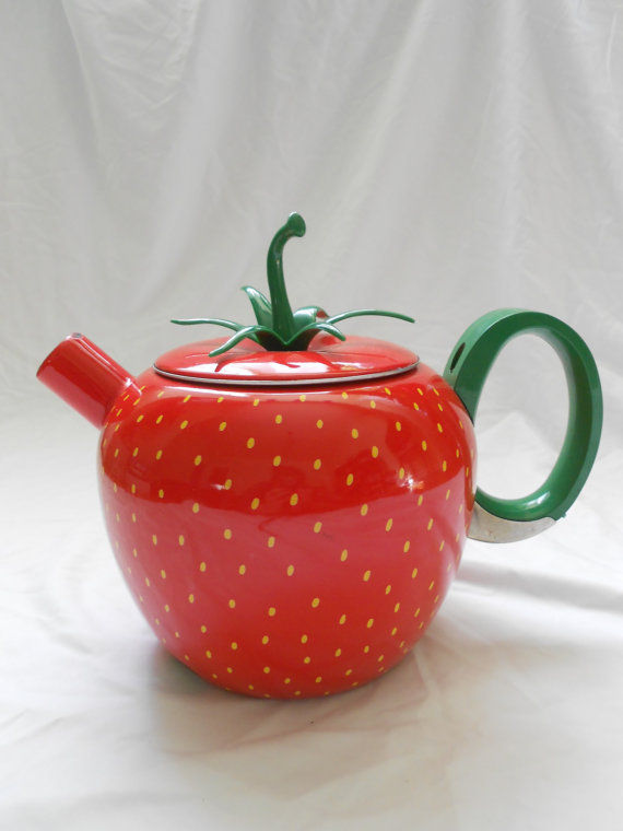 Bright Berry Teapots