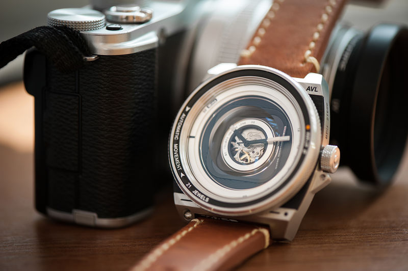 Elegant Camera-Inspired Watches