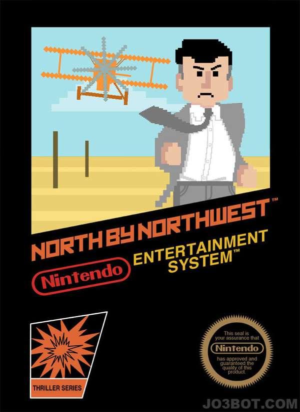 Nintendo-Hitchcock Mashups